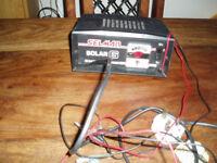 Selmar Solar 6, battery charger.