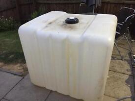 1,000 ltr baffled water tank