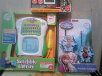 Brand new Leap frog/Frozen toys