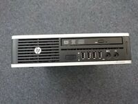 Core i5 HP Elite Small Form Factor Desktop 4gb ram 500Gb HDD
