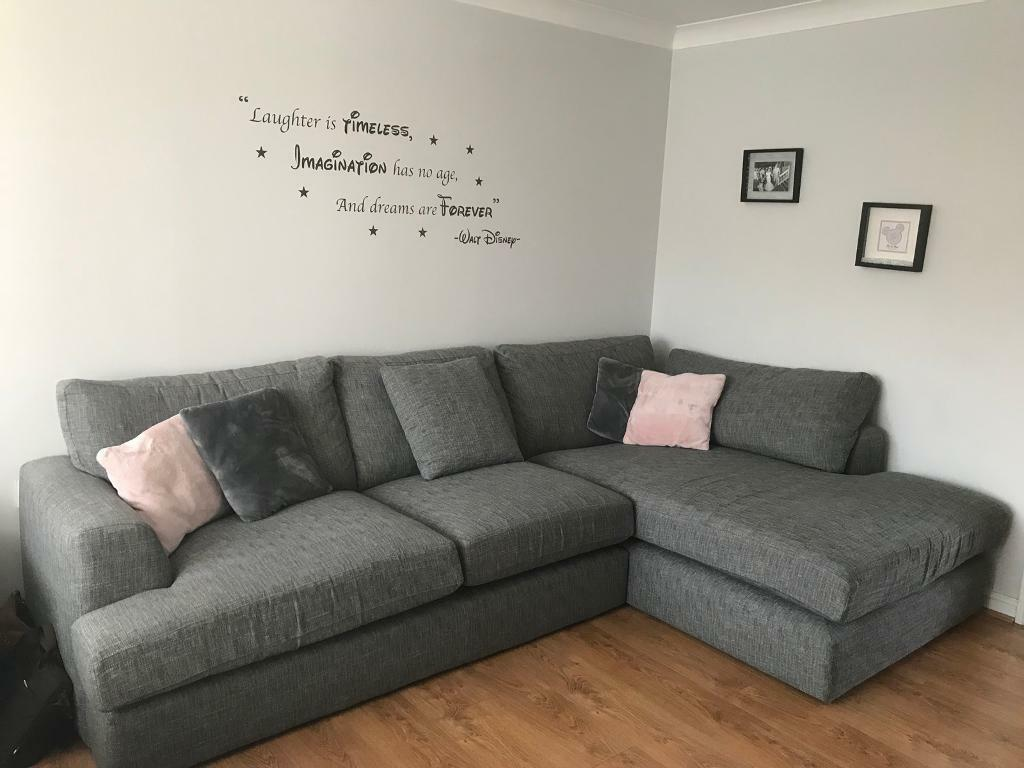 Next Stratus V 4 Seater Corner Sofa In Gartcosh Glasgow
