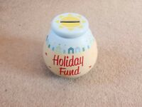 HOLIDAY FUND MONEY BANK