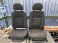 Land Rover Defender Puma TDCI Front Seats