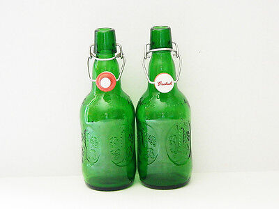 Grolsch Green Beer Bottles