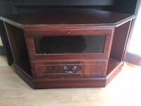 Brown tv stand for sale