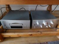 Teac Reference 500 CD player and amp