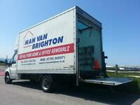 Man and Van Brighton for Rooms to Large House Moves, Large Luton with Tail Lift 1,2 or 3 men