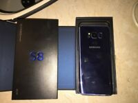 Samsung s8 brand new unlocked to any network coral blue
