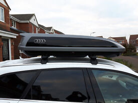 Audi Roof Box. Genuine Quality Roof Box from Audi