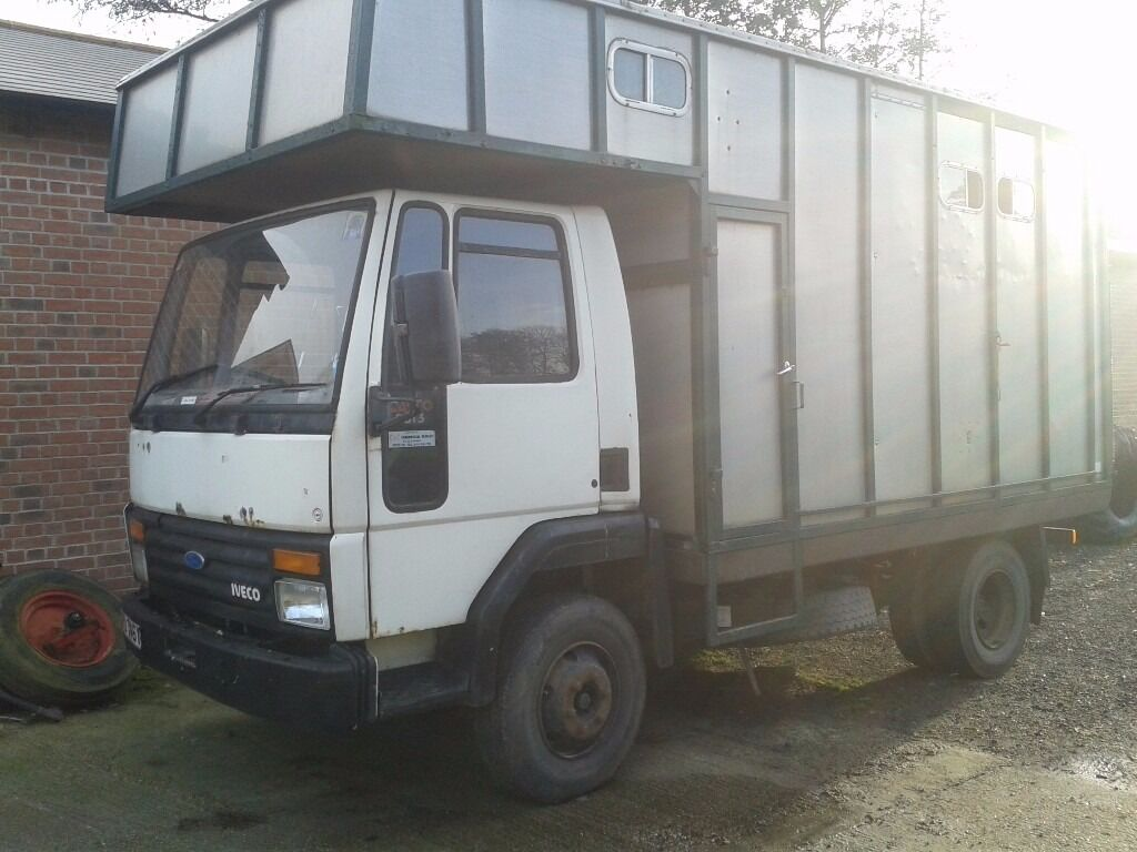 Ford Cargo Horsebox 0813 In Lymington Hampshire Gumtree