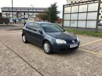 2006 Volkswagen Golf 1.4 S – Petrol, Manual, Blue, Long MOT, Full History, 5 Doors, A/C, Taxed