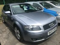 Audi a3 1.6 sport petrol 53 plate! 12mths mot! 155,000 miles! Very good runner and drive! £995!!