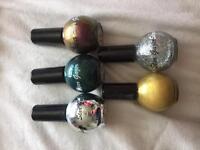 5 bottles of Stargazer nail polish