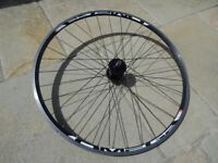 Mach 1 Omega Track / Single speed front wheel. 700c.