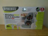 Back & shoulder massager with heating 14 adjustable programs