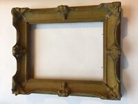 Vintage Ornate Wooden Picture Frame