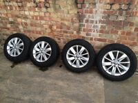 VW Volkswagen Golf MK6 Alloys
