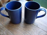 A Pair of Blue Mugs--Perfect!