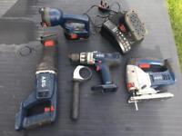 18v drill AEG not Dewalt Bosch