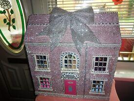 Blinged Dolls house