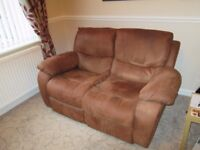 sofa two seater recliner