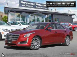 2014 CADILLAC CTS4 AWD 3.6L LUXURY |CAMERA|PHONE|WARRANTY|R.STAR