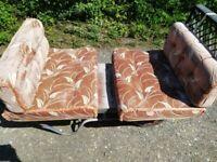 Caravan seat cushions