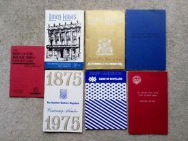 Collectors British Linen Bank Magazines