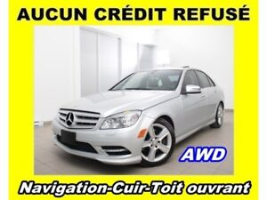 2011 Mercedes-Benz C-Class C300 4MATIC AWD TOIT OUVRANT CUIR *NA