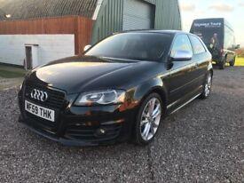 Audi S3 2.0T FSI 2009(59) Quattro BLACK EDITION auto/dsg cheapest around!!!