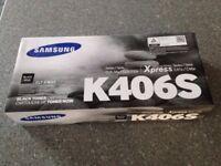 Samsung printer toner K406S black.