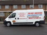 JULIUS MOVERS MAN AND VAN Bike Recovery Removals London , Battersea,Chelsea,Fulham,Wandsworth