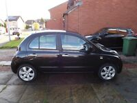 Nissan Micra N-TEC Auto in great condition with low mileage.