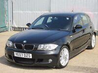 2007 (07 reg), BMW 1 Series 2.0 118d M Sport 5dr