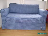 Hagalun Sofa Bed purchased from Ikea for £375. Receipt and instructions. Excellent condition.