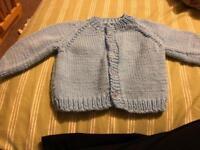Hand knit 6months
