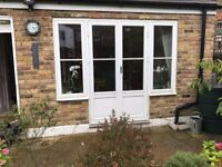 External Hard Wood Double Glazed French Doors