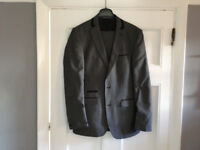 Grey Suit Men's / Boys 36R Slim Fit