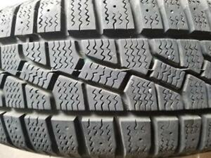 1 PNEU HIVER MARSHAL 195 70 14 WINTER TIRE