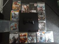 PS3 320 gig 13 games including GTA 5 1 controller