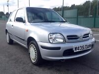2000 W REG NISSAN MICRA 1.0 IN SILVER WITH 63000 MILES ***BARGAIN***