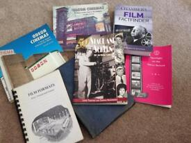 Collection of film books