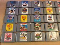 35 x NTSC Nintendo 64 games n64
