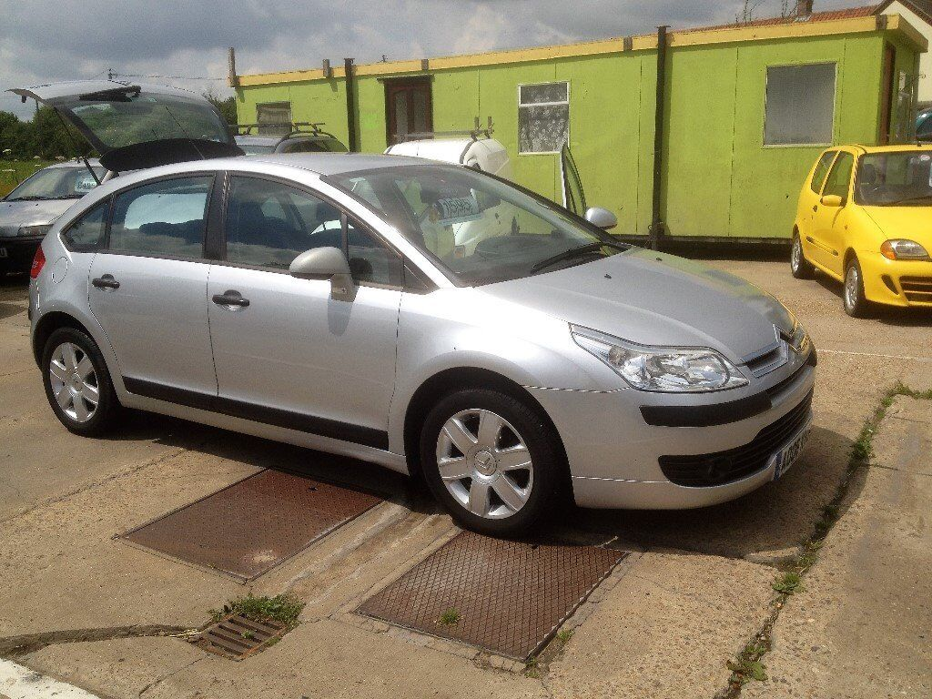swainsthorpe motor co 2006 citroen c4 1 6 sx 5 door hatch silver 72k full mot in norwich. Black Bedroom Furniture Sets. Home Design Ideas