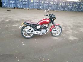 Honda cb 125 cafe ( 250 engine fitted)