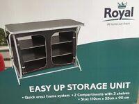 NEW Royal Easy Up Storage Unit