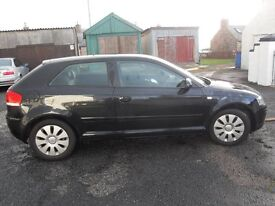 *** AUDI A3 TDI SE EXCELLENT COND £30 YEAR TAX MOT MAY 17 UP TO DATE FSH CAR NO ADVISORYS