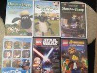 4 Children's DVD Bundle Shaun the Sheep