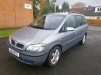 **2004 VAUXHALL ZAFIRA 2.0 DTI 7 SEATER LONG MOT S/HISTORY S/KEYS 100% EXCELLENT RUNNER**