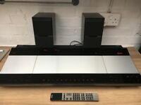 B&O Beocenter 9000 (restored), Beovox CX50 speakers, Beolink 1000 remote – Bang and Olufsen system